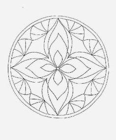 Mandalas To Paint: paint mandalas Zentangle Patterns, Mandala Pattern, Mosaic Patterns, Mandala Design, Embroidery Patterns, Zentangles, Craft Patterns, Mandala Coloring Pages, Colouring Pages