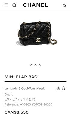 9732aa68794df8 15 Best Chanel mini flap images | Chanel mini square, Purses, Chanel ...