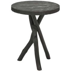 Safavieh: Tripod Round End Table Black, at 32% off!