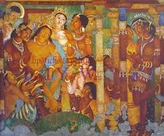Image result for ajanta paintings