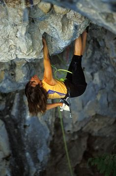 #Climbing, it turns our world upside down.