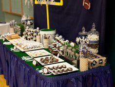 Football Tailgate Party- very cute