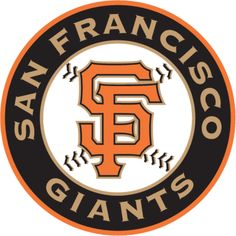 San Francisco Giants Alternate Logo on Chris Creamer's Sports Logos Page - SportsLogos. A virtual museum of sports logos, uniforms and historical items. Sf Giants Logo, Mlb Giants, Mlb Team Logos, Mlb Teams, Baseball Teams, Sports Teams, Baseball Cards, Sports Banners, Sport