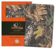 NKJV Personal Size Giant Print Reference Bible, Mossy Oak Edition, Leathersoft Camo  -