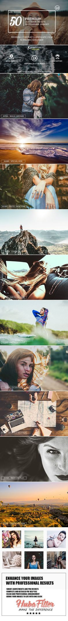 50 Premium Hubaset Lightroom Presets on Behance