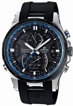 Casio Men Watches : Casio Edifice Smart Access Solar Tough Movement Corresponding 6 World Station EQWA1200B1AJF Men's Watch Japan import