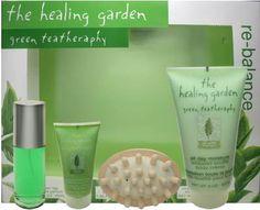 The Healing Garden Green Tea Therapy Re-Balance Gift Set