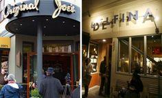 Original Joe's (Old San Francisco) and Delfina (New San Francisco)