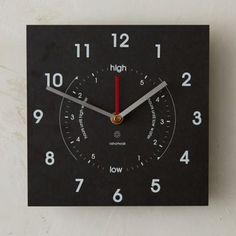 Recycled Time & Tide Clock