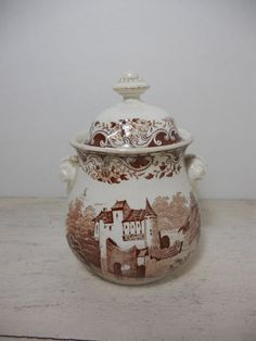 Antique Brown TransferwarE