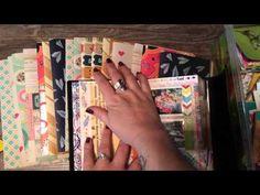 Scrapbook Travelers Notebook Inserts!!! - YouTube