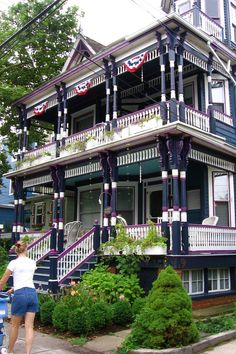 Typical Victorian House in Cape May - Jackson Street