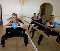 The Barre workout at The Barre Studio in Delray. My favorite workout EVER.
