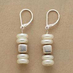 Pearl Cairn Earrings in Holiday Jewelry 2012 from Sundance on shop.CatalogSpree.com, my personal digital mall.