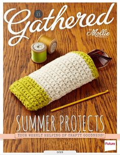 one sheepish girl: Crochet Sunglasses Case Project for Gathered!
