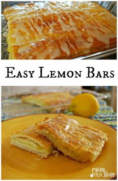 These are perfect warm for breakfast or as a snack. My kids devoured them. Simple to make using crescent rolls and lemon creme. Wonton Recipes, Lemon Recipes, Apple Recipes, Holiday Recipes, Dessert Cake Recipes, No Cook Desserts, Delicious Desserts, Sweet Desserts, Crescent Roll Recipes