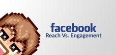 Facebook Post Reach Vs Engagement | Pixel Boy  #Blog #SocialMedia #Facebook