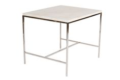Dering Hall - Buy Hunter Travertine Top Side Table - Side Tables - Tables - Furniture