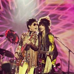 The Artist Formerly Known As Prince — funkateerdev: Prince & Andy Allo