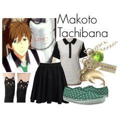 Makoto Tachibana by katwhisky on Polyvore featuring Rena Lange, Burnetie and MAKOTO