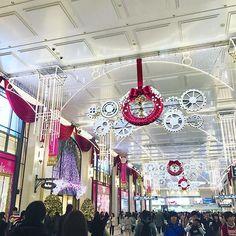 梅田のクリスマスデコきれい。 #梅田 #クリスマス
