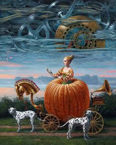 """fleurdulys: """" Time to Be a Queen - Michael Cheval 2012 """"                                                                                                                                                                                 More"""