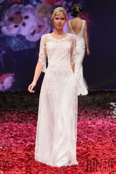 Claire Pettibone 2015 collection - Bridal - http://www.flip-zone.com/fashion/bridal/the-bride/claire-pettibone-4726