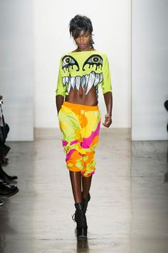 Jeremy Scott showing you a passion and extravagance. #fk #fashionkiosk #extra