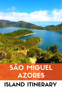 The ultimate insider itinerary to the island of São Miguel, Azores. Four days with insider tips, the best sights and things to do ALL CHOSEN BY AN AZOREAN! #azores #portugal #saomiguel @visitportugal @visitazores