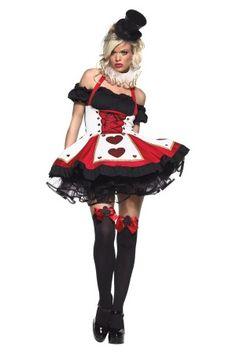 DARK HEART QUEEN ADULT COSTUME available at www.rebelcircus.com #halloween #costume