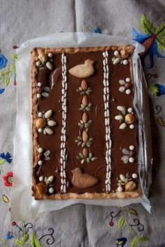Easter Pie recipes ideas for Easter 'coz Pie crusts are meant to be broken - Hike n Dip Polish Desserts, Polish Recipes, Pie Recipes, Just Desserts, Dessert Recipes, Polish Food, Healthier Desserts, Easter Pie, Easter Bunny Cake