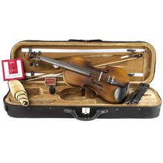 By far, the best student violin outfit for under 250-the Ricard Bunnel G2.  A KV exclusive!