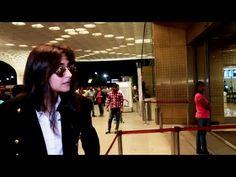 Sonam Kapoor spotted at Mumbai airport.