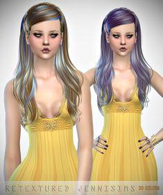 Jennisims : Newsea Monochrome Hair retexture.