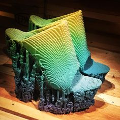 Francis Bitonti's Molecules 3D printed shoes in the 'Utopian Bodies' show at #liljevalchs Museum in Stockholm #utopianbodies @francisbitontistudio