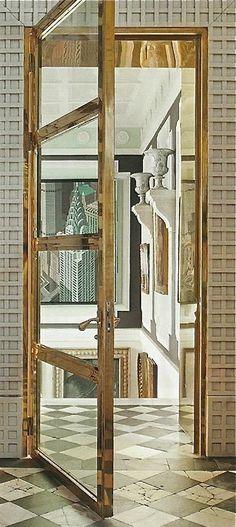 Lorenzo Castillo - brass door frame