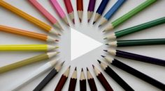 A Colored Pencil Stop Motion Video