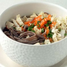 Soba Noodles with Miso Broth from Cooking Light
