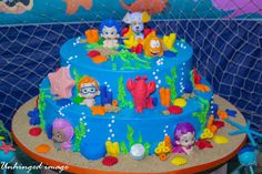 Under Water Bubble Guppies | CatchMyParty.com