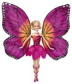 Barbie Mariposa prachtige vleugels om te toveren in een jurk