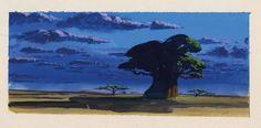 O Rei Leão: visual development, arte conceitual | © Disney • #background