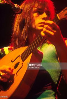 Steve Howe of Yes performs on stage, USA, August 1977.