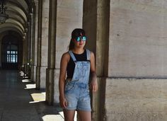 OOTD- Every City Was A Gift | oh hey there rachel (dungarees style!) Dungarees, Overalls, Overall Shorts, Lifestyle Blog, Ootd, My Style, Pants, Beauty, Gift