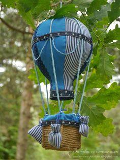 Воздушный шар. Настоящий. Морской.
