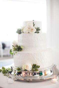 Wedding cake// Belle Haven Club// Greenwich, CT