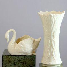 Lenox Woodland Small Vase And Centennial Edition Swan    eBay