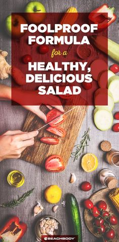 12 tasteful healthy lunch ideas with high nutrition 00002 Best Salad Recipes, Salad Dressing Recipes, Lunch Recipes, Healthy Recipes, Healthy Tips, Yummy Recipes, Healthy Salads, Healthy Eating, Beachbody Blog