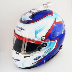 Elliott Sadler NASCAR helmet for 2015