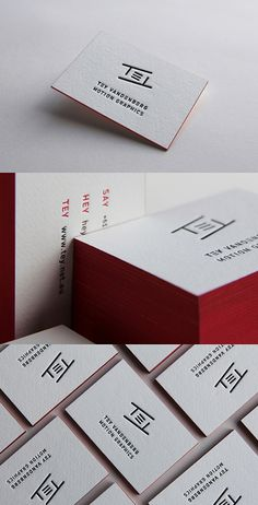 Motion Graphics Business Card