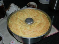 Receita de Bolo de pão de queijo simples da Sandra